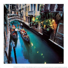 Life In Venice poster print