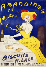 Amandines de Provence, Biscuits Pernot poster print by Leonetto Cappiello