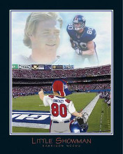 Little Showman-Jeremy Shockey poster print by  Little Pro's