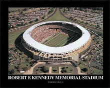 Rfk Memorial Stadium-Wash Dc poster print by Mike Smith