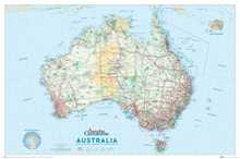 Australia Map poster print by  Novelty