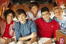 One Direction - Group poster print