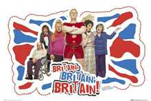Little Brittan Cast poster print by  Novelty