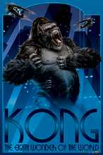 King Kong poster print by  Novelty