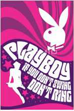 Playboy Swing poster print by  Novelty