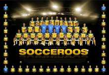 Socceroos - Road to South Africa poster print by  Unknown