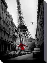 La Veste Rouge poster print by  Canvas Collection