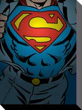 Superman Torso poster print by  Canvas Collection