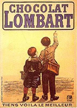Choclat Lombart poster print by  Unknown