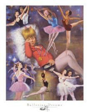 Ballerina Dreams poster print by Clemente Micarelli