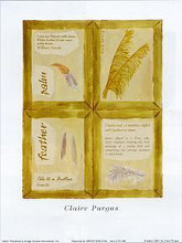 Feather Palm poster print by Claire Pavlik Purgus