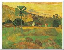 Haere Mai poster print by Paul Gauguin
