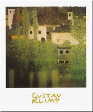 Castle Unterrach on Attersee poster print by Gustav Klimt