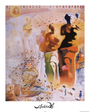 The Hallucinogenic Toreador, c.1970 poster print by Salvador Dali