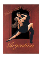 Argentina poster print by David Marrocco