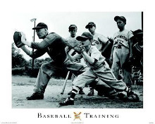 Baseball Training poster print by  Unknown