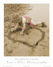 One Heart To Another poster print by Photography Tom N Ellie