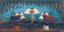 Angels Gather Here poster print by David Harden