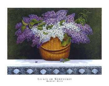 Lilacs of Nantucket poster print by Robert Duff