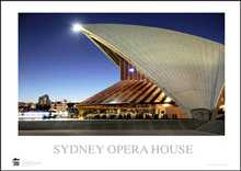Sydney Opera House 10 poster print by Jack Atley