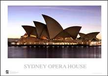Sydney Opera House 11 poster print by Jack Atley