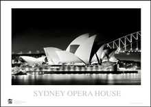 Sydney Opera House 12 poster print by Jack Atley