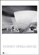 Sydney Opera House 2 poster print by Jack Atley