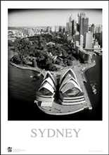 Sydney Opera House 3 poster print by Jack Atley