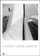 Sydney Opera House 6 poster print by Jack Atley