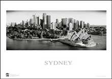 Sydney Opera House 9 poster print by Jack Atley