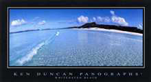 Whitehaven Beach poster print by Ken Duncan