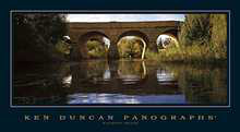 Richmond Bridge poster print by Ken Duncan