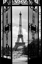La Tour Eiffel poster print by  Unknown