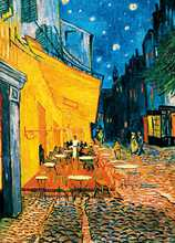 Café Terrace at Night poster print by Vincent van Gogh