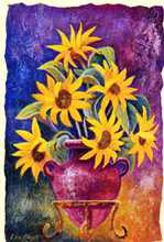 Florals III poster print by Les Miles