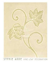 Vine Leaf Decoration poster print