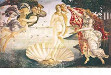 Birth Of Venus poster print by Sandro Botticelli