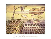 Disintegration Of The Persistence Of poster print by Salvador Dali