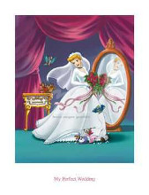 Cinderella - My Perfect Wedding poster print