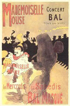 Mademoiselle Mouse poster print by  Disney
