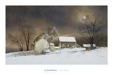 New Moon poster print by Ray Hendershot