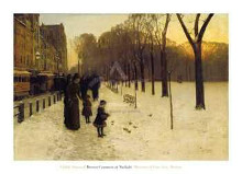 Boston Common At Twilight, 1885-86 poster print