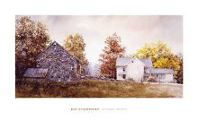 Autumn Roost poster print by Ray Hendershot