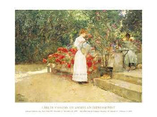 After Breakfast, 1887 poster print by Childe Hassam