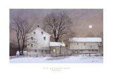 Full Moon poster print by Ray Hendershot