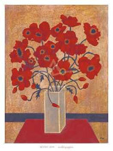 Scarlet Poppies poster print