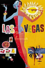 Las Vegas poster print by  Unknown