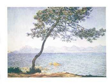 Antibes poster print by Claude Monet