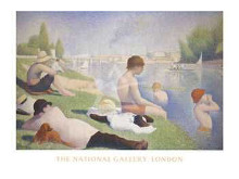 Bathers At Asnieres poster print
