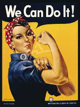 We Can Do It! poster print by Howard Miller